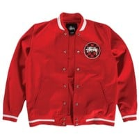 Stussy Check Varsity Jacket - Men's at CCS