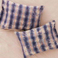 Overdyed Flannel Pillowcase Set - Urban Outfitters