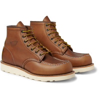 Red Wing Shoes875 Moc Rubber-Soled Leather Boots|MR PORTER