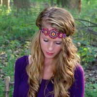 Beads of Beauty Headband: Multi Color