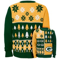 Green Bay Packers Ugly Sweater - Boys 8-20|NFL Ugly Sweater - Boys 8-20