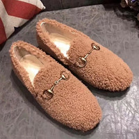 GUCCI wool single shoes