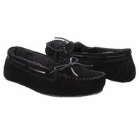 Accessories Minnetonka Moccasin Women's Britt Trapper Black FamousFootwear.com
