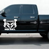 Cummins Diesel Dodge Ram Truck Car Vinyl Graphics SUV Will Fit Any Car Tr012