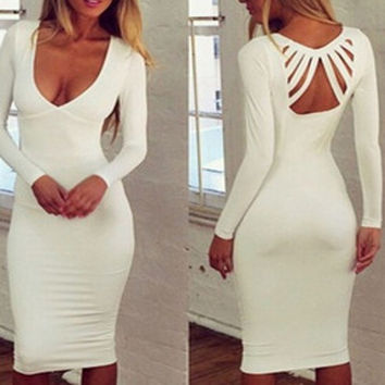New Fashion Summer Sexy Women Mini Dress Casual Dress for Party and Date = 4432100996