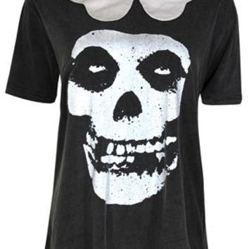 Iron Fist Misfits Ladies Collar T-Shirt - Buy Online at Grindstore.com