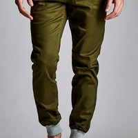 Fairplay Brand Karson Jogger Pants - Mens Pants - Green