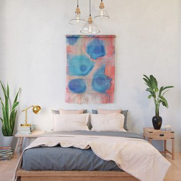 Sea Urchins & Coral Wall Hanging by duckyb