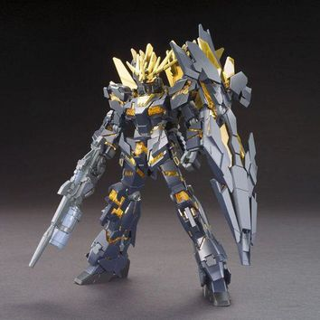 DABAN Japanese anime figures Gundam HGUC 1/144 RX-UNICORN 02 BANSHEE NORN robot action figure plastic model kits toys