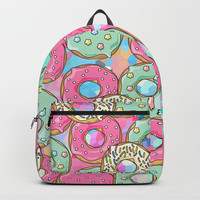 Sweet Donuts Cookies Backpacks by Smyrna