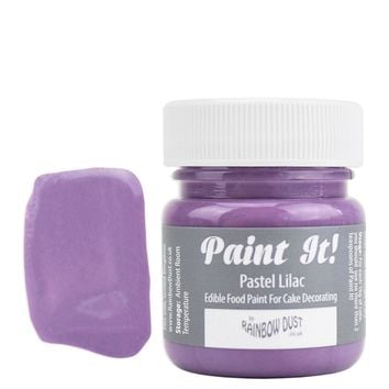 Pastel Lilac Edible Paint POT