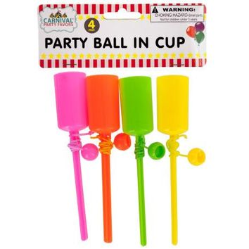 Party Ball In Cup Set ( Case of 48 )