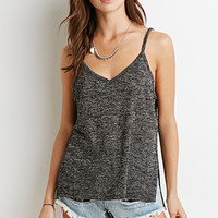 Heathered V-Neck Cami