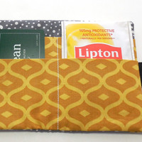 Tea Wallet, Gift Card Wallet, Business Card Wallet