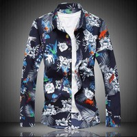 Mens Flower Shirts