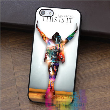 Micheal Jackson On Stage fashion cell phone case for iphone 4 4s 5 5s 5c SE 6 6s & 6 plus & 6s plus #qz292