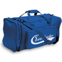 Large Deluxe Cheerleader Travel Bag with Imprint