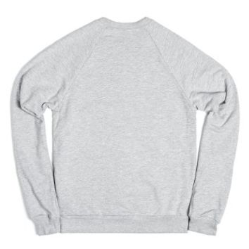 C - Z L L N H 2-Unisex Heather Grey Sweatshirt