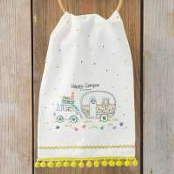Happy Camper Hand Towel