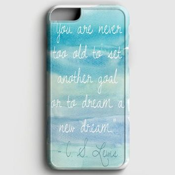 Blue Ombre Quote iPhone 6 Plus/6S Plus Case