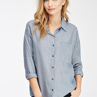 Boxy Denim Shirt