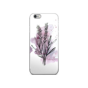 Iphone 6s Case Floral, Iphone 6 Plus Case, Iphone 6s Case Flowers, Iphone Case Lavender, Iphone Case Floral, Iphone Case Cute, Gift Idea