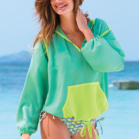 Drawstring Hooded Cover-up - Victoria's Secret