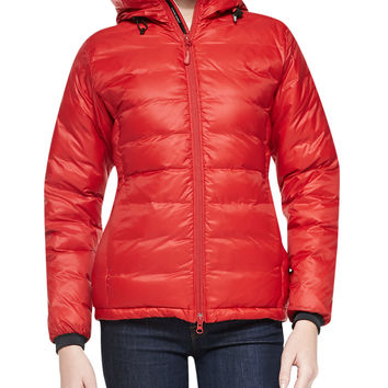 Camp Hooded Packable Puffer