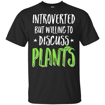 Funny Introverted But Willing To Discuss Plants