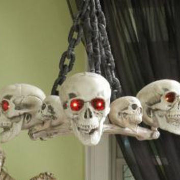 Skull Chandelier - Led Lights