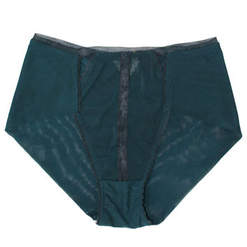 V-DAY SHIPPING Triangle High-Waist Panty - Evergreen