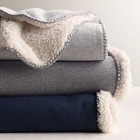 Luxe Sherpa Bed Throw