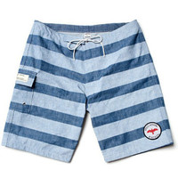 LOSANGELIST ? KATIN + APOLIS / STRIPED CHAMBRAY SWIM TRUNKS ...