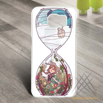 Disney Frozen Hourglass Art Custom case for Samsung Galaxy