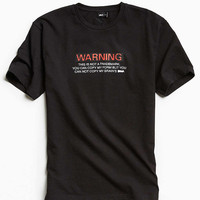 Publish Warning Tee - Urban Outfitters