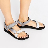 Teva Original Universal Gray Gradient Flat Sandals