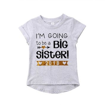I'm Going To Be A Big Sister - Baby Kid Child Toddler Newborn T-shirt