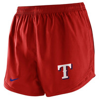 Nike Texas Rangers Womens MLB 2014 Tempo Performance Shorts - Red