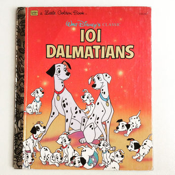 Walt Disney's 101 Dalmatians - Vintage Little Golden Book