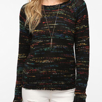 Urban Outfitters - Sparkle & Fade Rainbow Marl Pullover Sweater