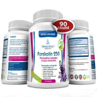 Forskolin Purified Herbal Supplement - 250 mg - 90 ct - Works Effectively as Appetite Suppressant and Fat Burner - One of The Most Powerful Weight Loss Supplement Product Available - Promotes Energy to Support Exercise and Focus - Used also in Sports Nutri
