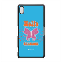 Sassy - Hello Gorgeous 10433 Hard Plastic Case for Sony Xperia Z2 by Sassy Slang