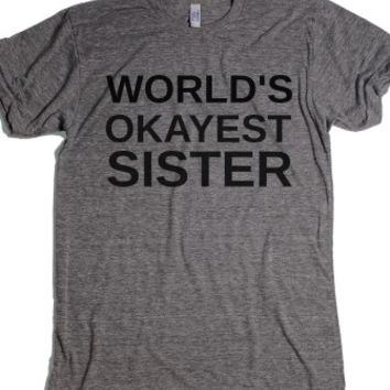 Athletic Grey T-Shirt | Funny Gifts For Sisters Shirts