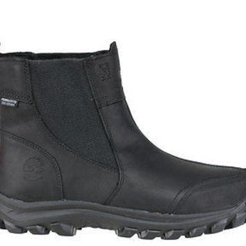 Timberland Mens EK Chilberg Pull On Boots WP Insulated Black 7862A