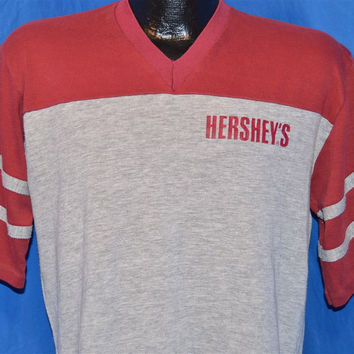 80s Hershey's Chocolate Jersey t-shirt Medium
