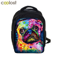 Kids Bulldog Rottweiler Backpack Children School Bags Boys Girls Kindergarten Backpacks Book Bag Best Gift Cute Dog Backpack Bag