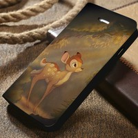 Disney Bambi Custom Wallet iPhone 4/4s 5 5s 5c 6 6plus 7 and Samsung Galaxy s3 s4 s5 s6 s7 case