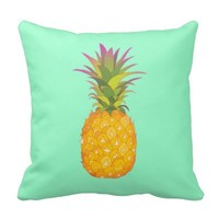 Pineapple - Tropical Mint Pillow