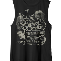 My Chemical Romance Official Store - Scary Muscle Tank