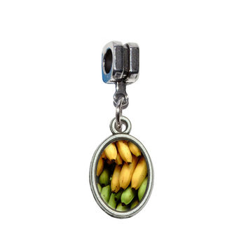 Bunch of Bananas European Style Bracelet Charm